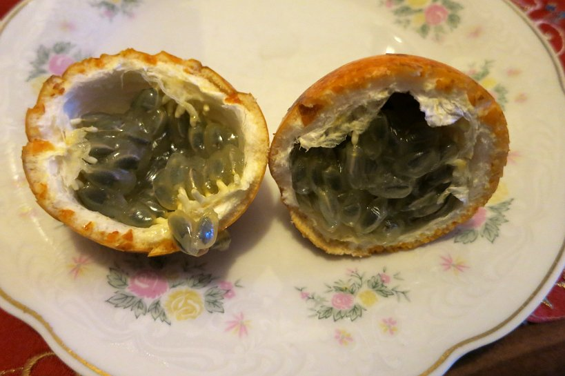 Strange fruits maracuya