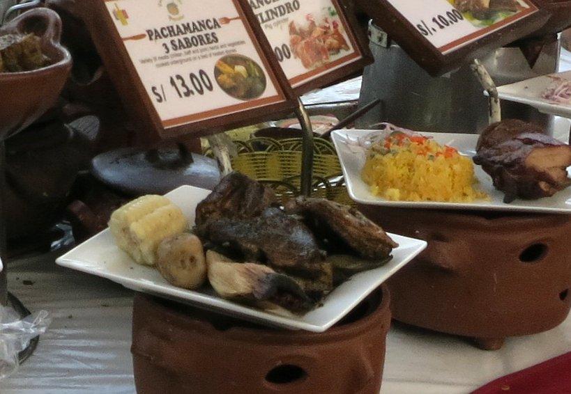 Peru Gastronomy Pachamanca