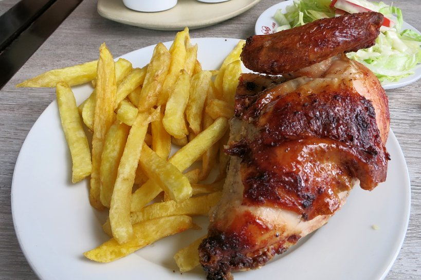 Peruvian fast food