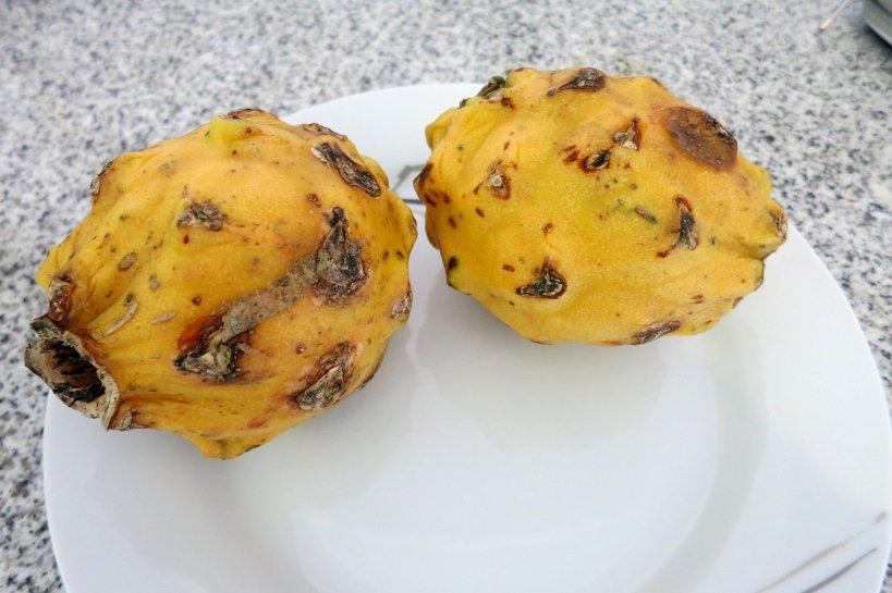 Strange fruits pitahaya