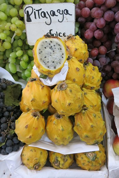 Strange fruits pitahaya