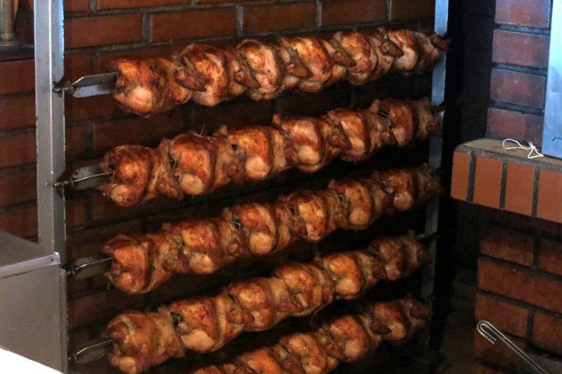 Peruvian Fast food rotisserie
