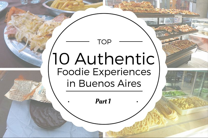 Authentic Buenos Aires food experiences