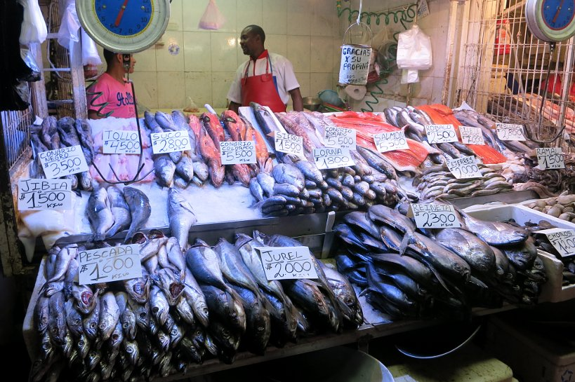 Authentic Food Fish Market Mercado Central Santiago Chile Authentic Food Quest