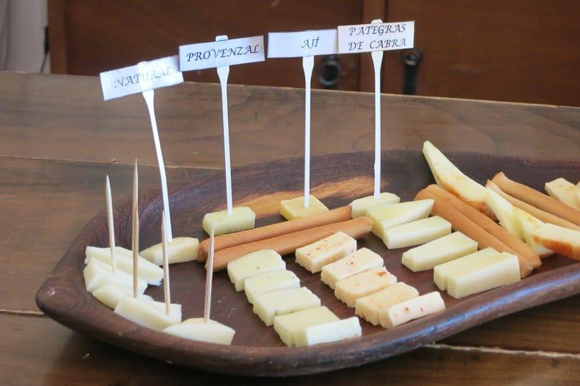 Goat Farm Cheese Tasting Cabras de Cafayate Authentic Food Quest