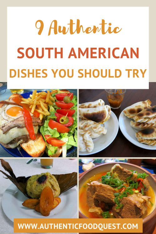 South American Dishes by AuthenticFoodQuest