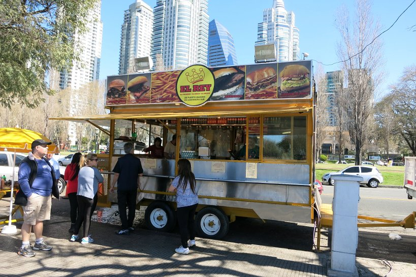 Argentinian Street Food Puerto Madero Street Food Vendor Authentic Food Quest
