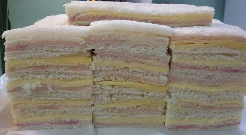 Argentinian Street Food Sandwich de Miga Authentic Food Quest