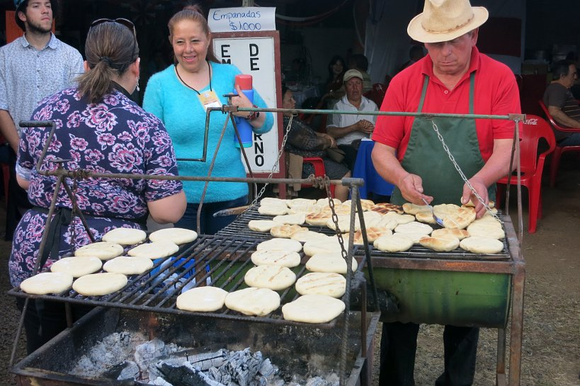 Local Festival Talca Chile Authentic Food Quest Churrascas