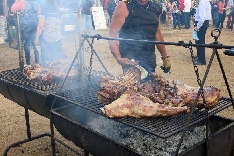 Chilean local festival Talca Ribs Authentic Food Quest