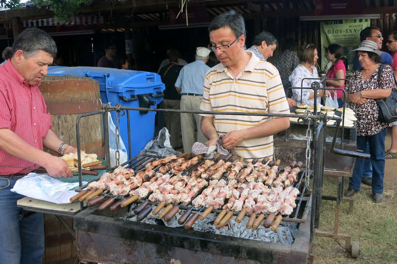 local festival Talca authentic food quest