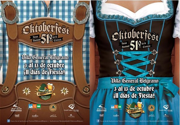 Flyer Oktoberfest Argentina Beer Authentic Food Quest