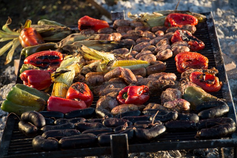 Argentinian grilling at The Vines of Mendoza