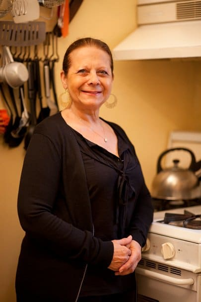 Picture of Mirta Rinaldi Argentine dishes instructor The League of Kitchens