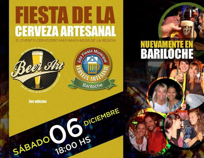 beer art festival artisanal beer in bariloche by Authentic Food Quest