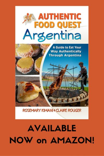 Authentic Food Quest Argentina Book Available on Amazon Kindle Pinterest