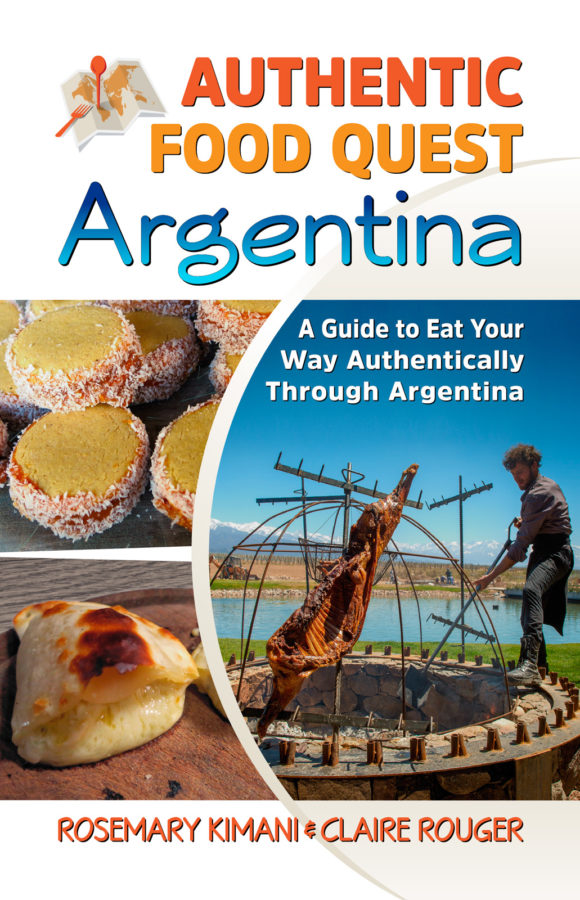 Authentic Food Quest Argentina Book