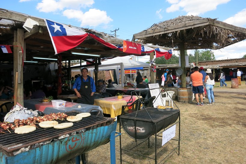 Chilean Local Festival Stay with Locals Authentic Food Quest