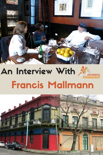 Pinterest Chef Francis Mallmann Authentic Food Quest