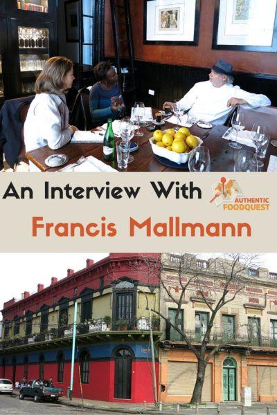 Pinterest Chef Francis Mallmann Authentic Food Quest