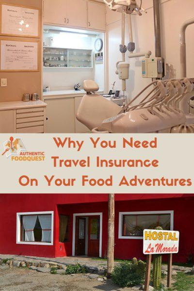 Pinterest Travel Insurance Authentic Food Quest