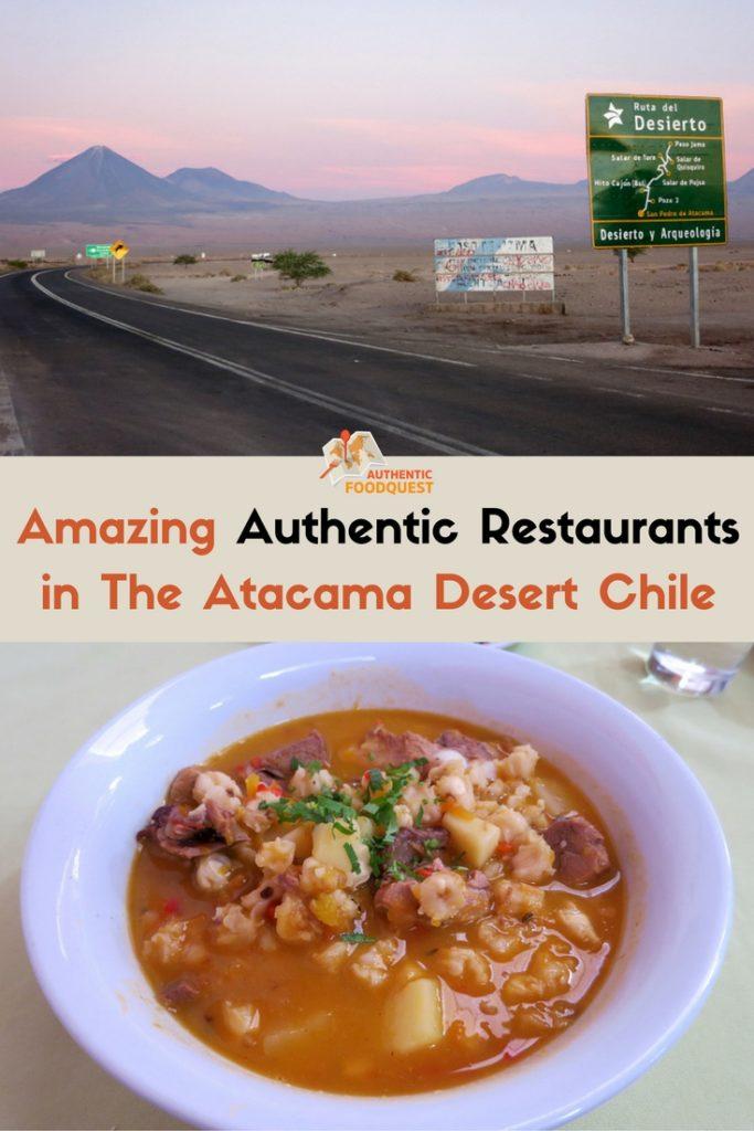 Amazing AuthenticRestaurants in San Pedro de Atacama Desert Chile Authentic Food Quest