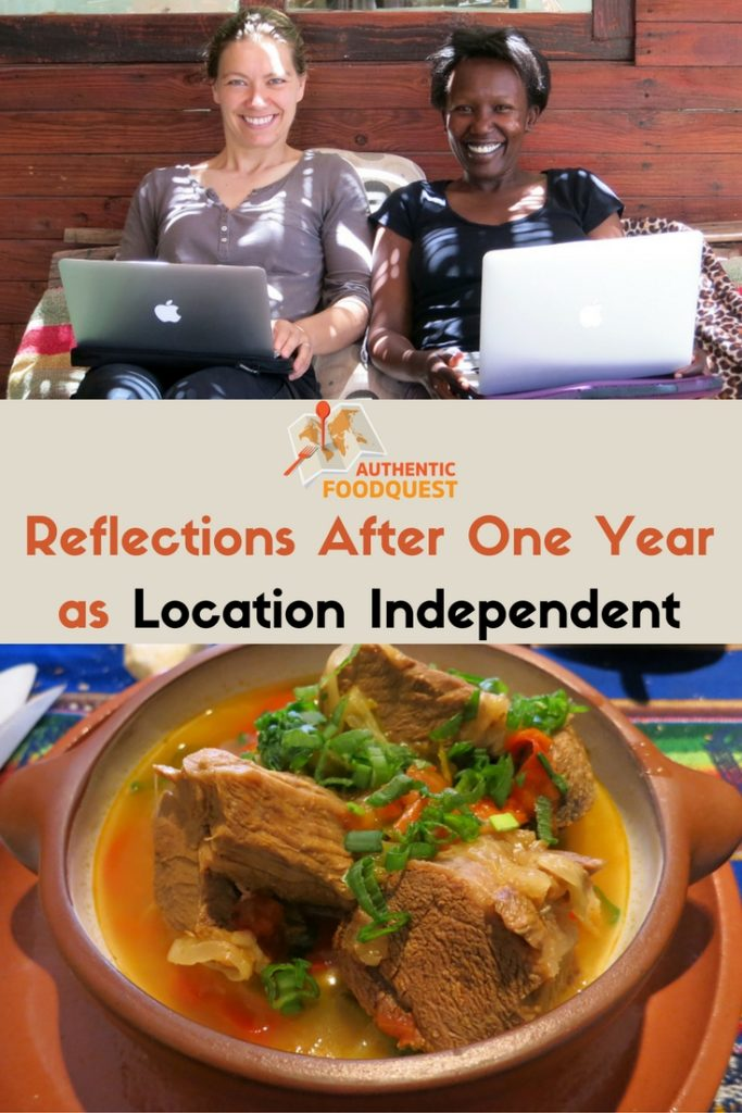 Pinterest Reflections After One Year as Location Independent Authentic Food Quest