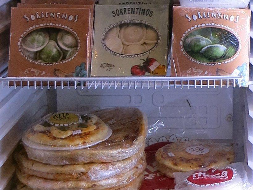 Argentinian food store La Vaneciana in Mendoza, Argentina
