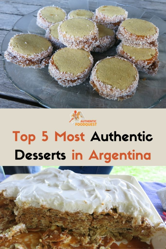 Top 5 most authentic desserts in Argentina
