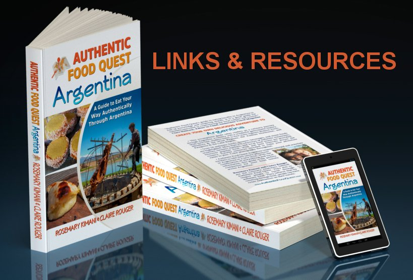 Authentic Food Quest Argentina Book Links And Resources