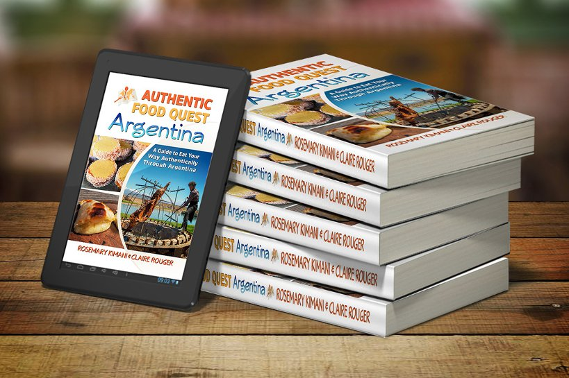 Paperback version of Authentic Food Quest Argentina