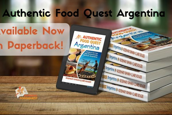 authentic food quest argentina paperback