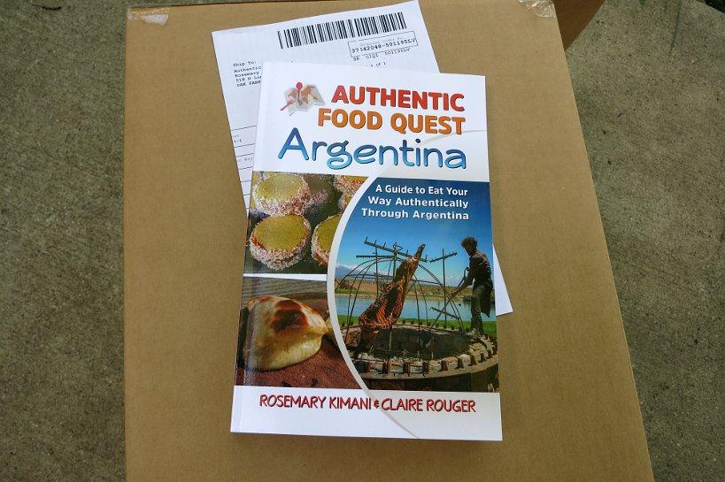 Paperback version of Authentic Food Quest Argentina