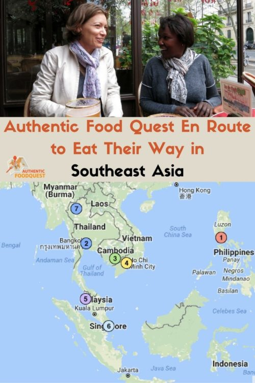 Authentic Food Quest en route to Southeast Asia itinerary