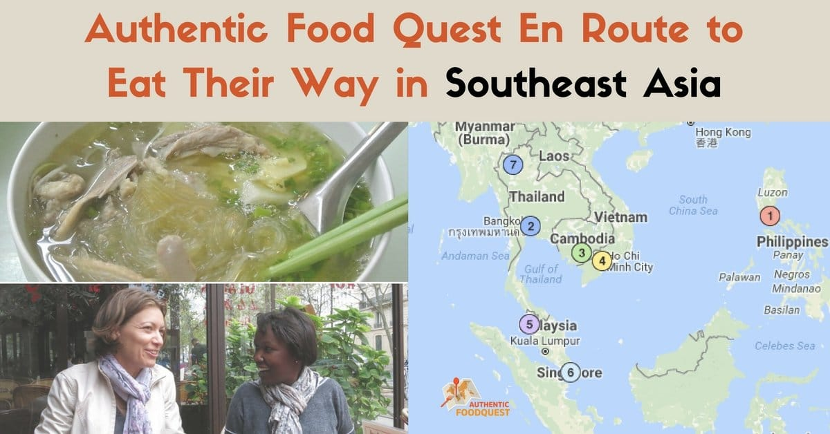 Authentic Food Quest En Route To Eat Their Way Through Southeast Asia!