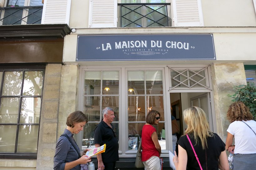 la maison du chou store paris chocolate tour authentic food quest