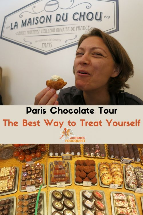 Paris chocolate tour the best way to treat yourself Pinterest pin