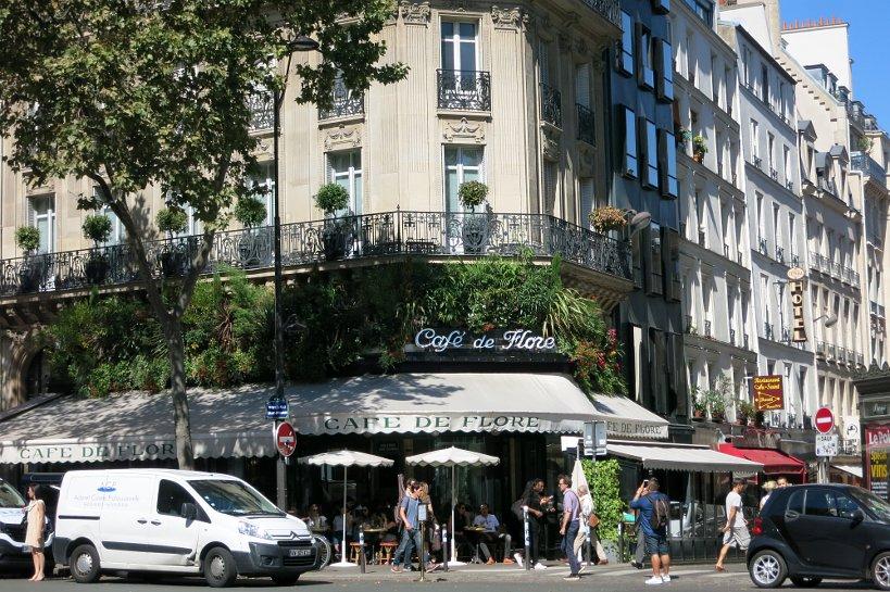 Affordable restaurants in Paris, Cafe de Flore