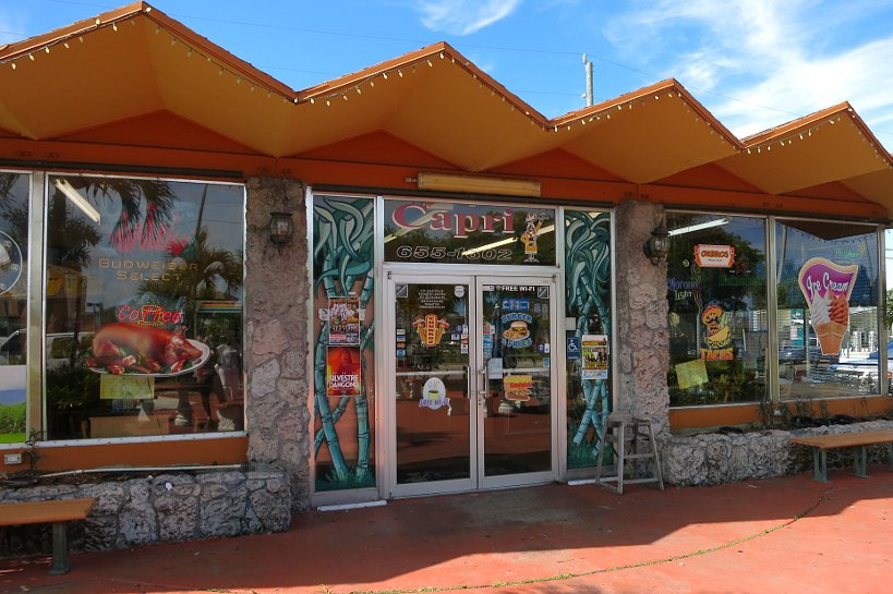 Capri Bakery, Cuban Restaurant, Miami