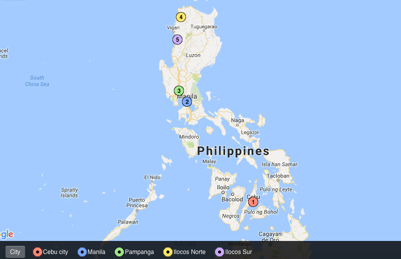 food in the philippines map authentic food quest