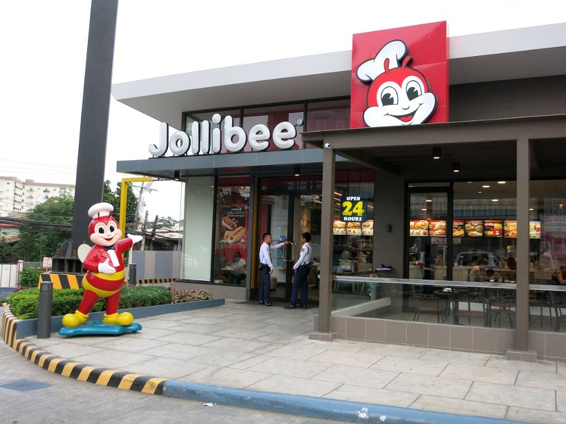 Jollibee Filipino fast food chain food in the philippines authentic food quest