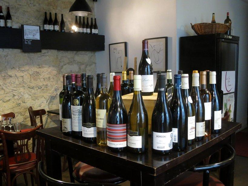 affordable restaurants in Paris, le vin qui danse