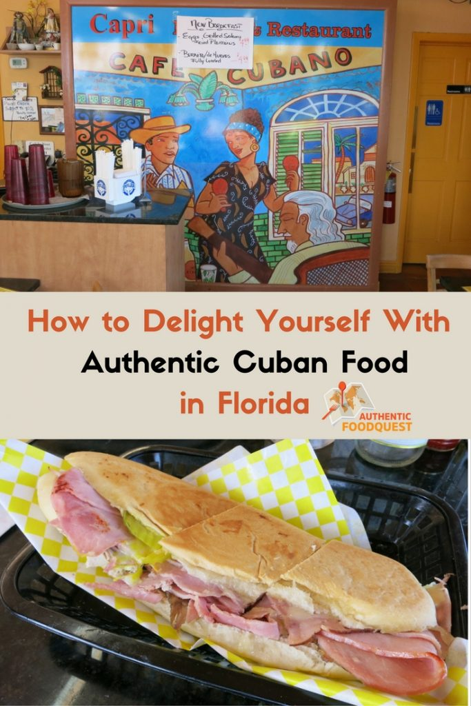 Cuban Food Miami Pinterest image by Authentic Food Quest