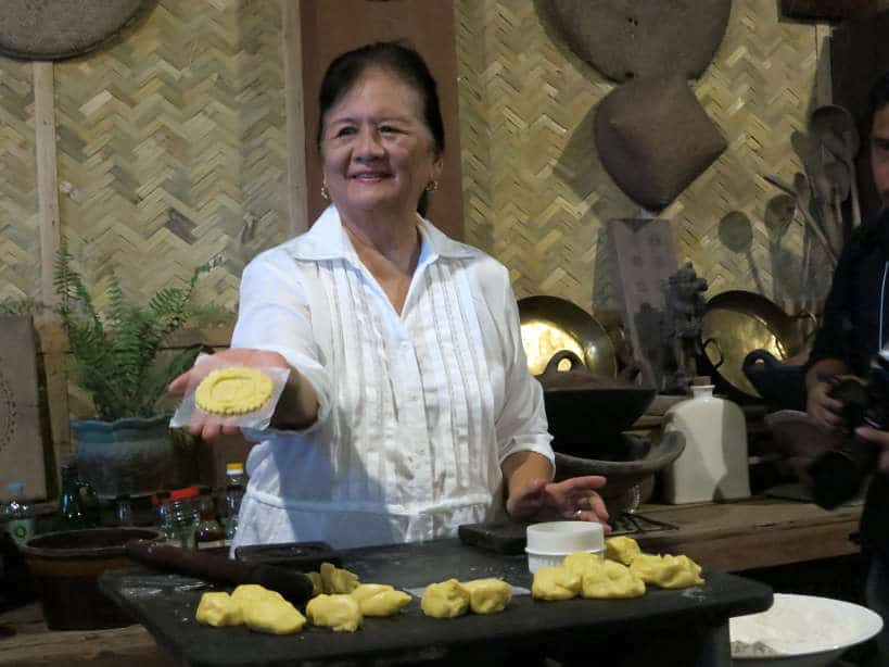 Atching Lillian with San Nicolas Cookies for Pampanga Cuisine by Authentic Food Quest