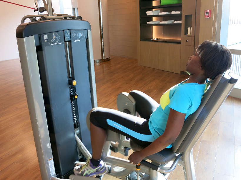 How to stay fit on your travels, working out at Kerry Sports at the Shangri-La at the Fort, Manila