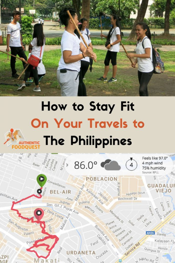 Pinterest how to stay fit on your travels to the philippines authentic food quest