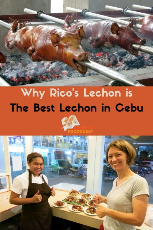 Pinterest why ricos lechon is the best lechon in cebu authentic food quest
