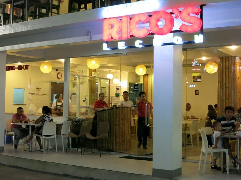 ricos lechon restaurant cebu lechon authentic food quest