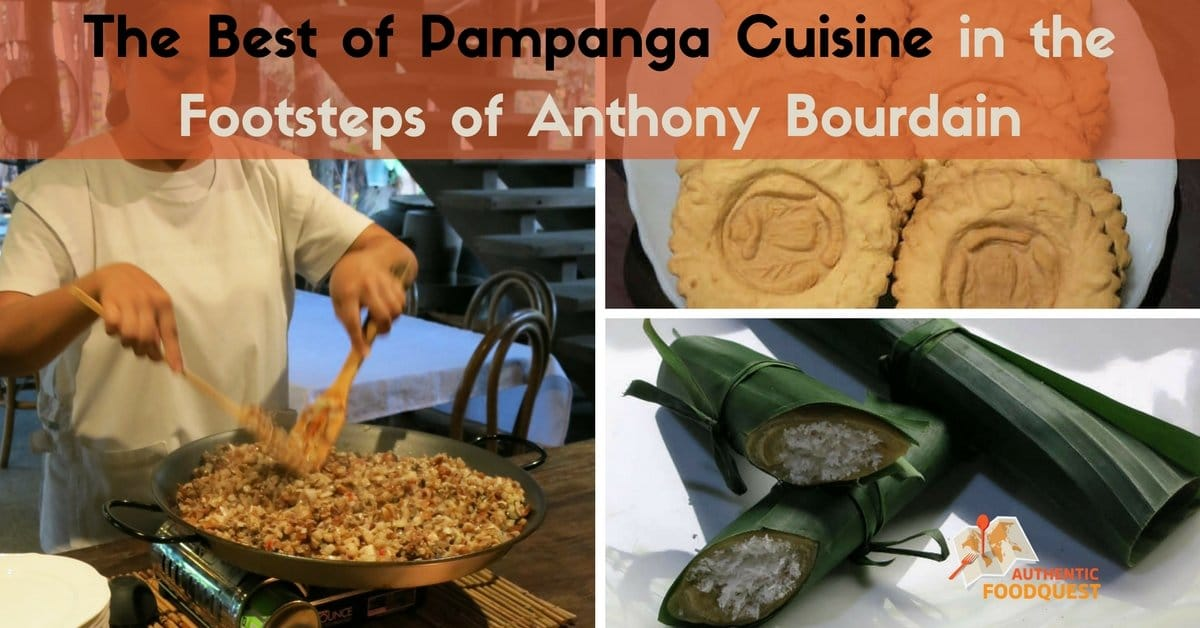 the best ofpampanga cuisine authenticf ood quest