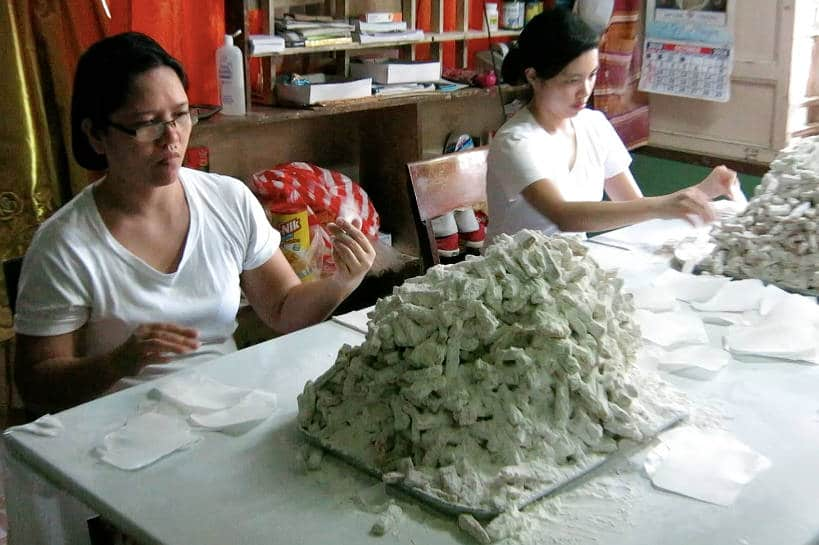 Turones de Casoy preparation for Pampanga cuisine by Authentic Food Quest